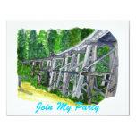 Trestle Bridge 4.25x5.5 Paper Invitation Card