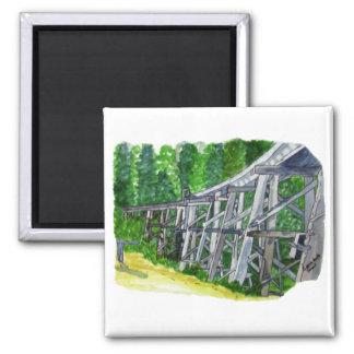 Trestle Bridge Magnet