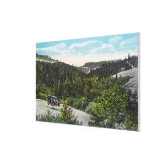 Trestle on the Milwaukee - Nine Mile Canyon Canvas Print