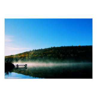 Trestle Pine Lake Poster