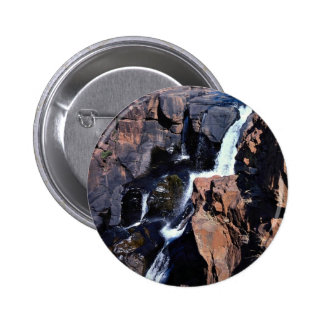 Treur River Canyon Eastern Transvaal South Afric Pinback Button