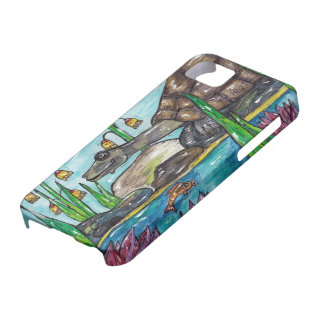 Trev la tortuga iPhone 5 Case-Mate carcasas