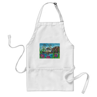Trev the Turtle Adult Apron