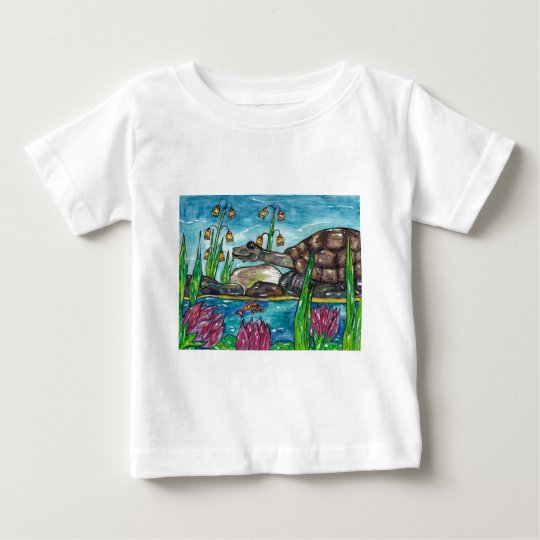 Trev the Turtle Baby T-Shirt