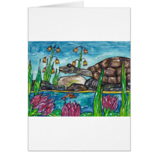 Trev the Turtle Card