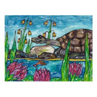 Trev the Turtle Postcard