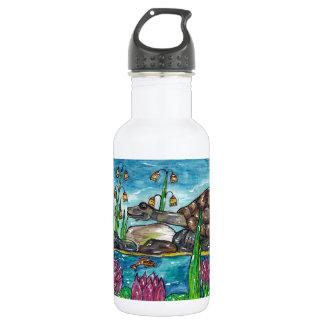 Trev the Turtle Water Bottle
