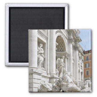Trevi Fountain 2 Inch Square Magnet