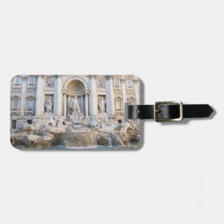 Trevi Fountain Bag Tag