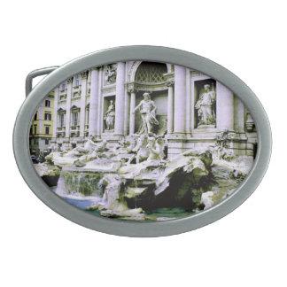 Trevi Fountain Belt Buckle