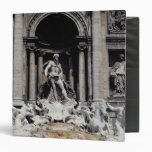 Trevi Fountain, built 1732-62 3 Ring Binder
