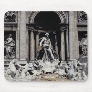 Trevi Fountain, built 1732-62 Mouse Pad