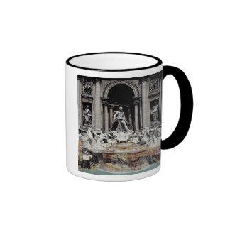 Trevi Fountain, built 1732-62 Mugs