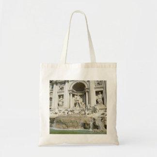Trevi Fountain Canvas Bag