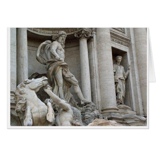 Trevi Fountain Card