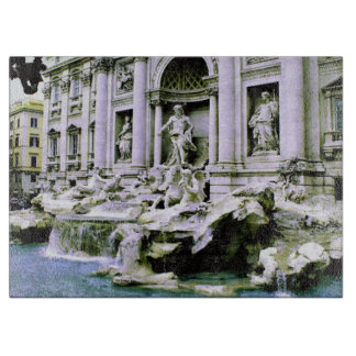 Trevi Fountain Cutting Boards