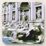 Trevi Fountain Drink Coasters