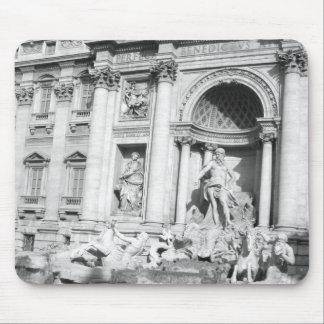 Trevi Fountain (Fontana di Trevi) Mouse Pad
