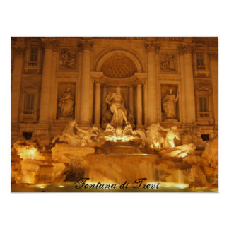 Trevi Fountain, Fontana di Trevi Posters