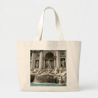 Trevi Fountain (Fontana di Trevi) -Rome Canvas Bag