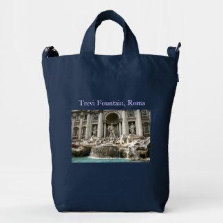 Trevi Fountain (Fontana di Trevi) -Rome Duck Bag