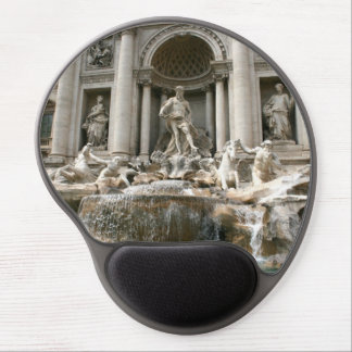 Trevi Fountain (Fontana di Trevi) -Rome Gel Mouse Pad