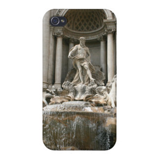 Trevi Fountain (Fontana di Trevi) -Rome iPhone 4 Cases