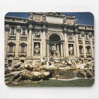 Trevi Fountain, Fontana di Trevi, Rome, Italy Mouse Pad