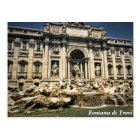 Trevi Fountain, Fontana di Trevi, Rome, Italy Postcard