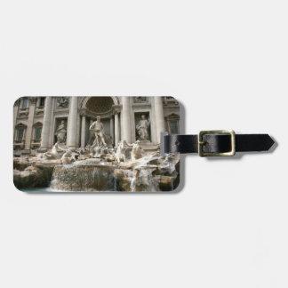 Trevi Fountain (Fontana di Trevi) -Rome Luggage Tag