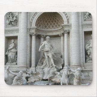 Trevi Fountain Fontana di Trevi Rome photo Mouse Pad