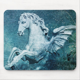 Trevi Fountain Horse Mouse Pad