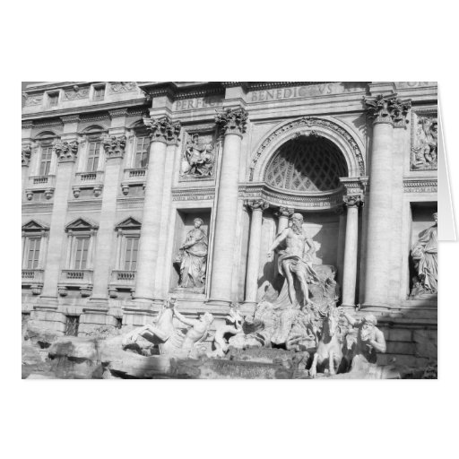 Trevi Fountain in Rome Cards