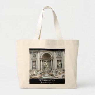 Trevi Fountain in Rome, Italy Jumbo Tote Bag