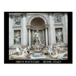 Trevi Fountain in Rome, Italy Postcards