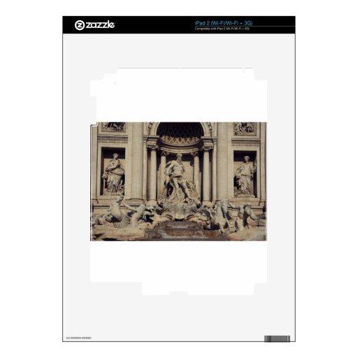 Trevi Fountain iPad 2 Skins