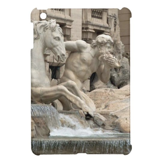 Trevi Fountain iPad Case