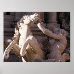 Trevi Fountain, Italy Print