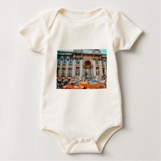 Trevi Fountain.jpg Baby Bodysuit