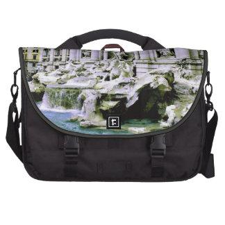 Trevi Fountain Laptop Messenger Bag