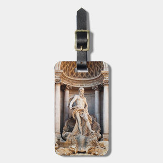 Trevi Fountain Luggage Tag
