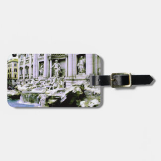 Trevi Fountain Tags For Luggage