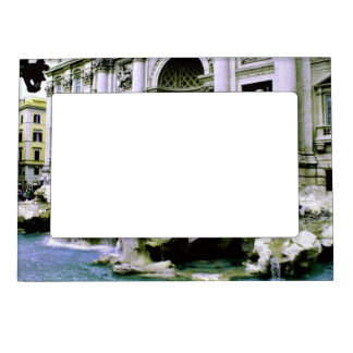 Trevi Fountain Magnetic Photo Frame