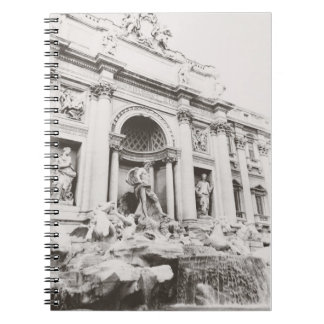 Trevi Fountain Notebook