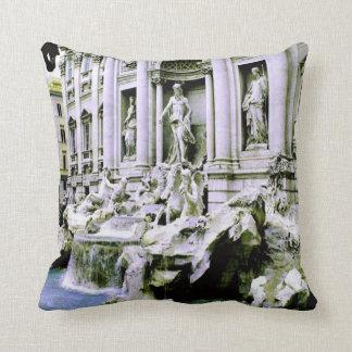 Trevi Fountain Pillows