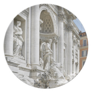 Trevi Fountain Plate