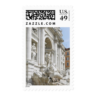 Trevi Fountain Stamps