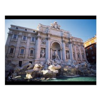 Trevi Fountain Postcard