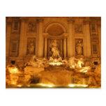 Trevi Fountain Postcards