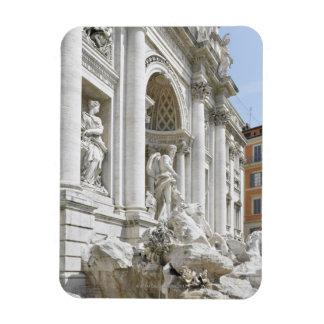 Trevi Fountain Rectangular Magnets